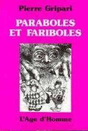 Paraboles Et Fariboles - Couverture - Format classique