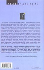 Encore Une Fois La Mer - 4ème de couverture - Format classique