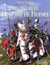 Ma première histoire de France - Couverture - Format classique