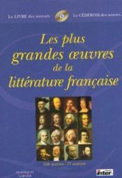 Coffret Les Plus Grandes Oeuvres De La Litterature Francaise - Couverture - Format classique