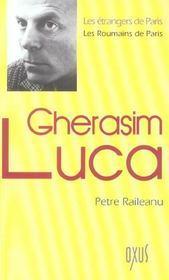Gherasim Luca - Intérieur - Format classique