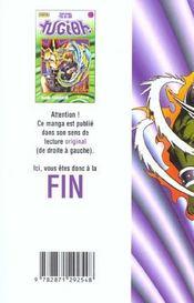 Yu-Gi-Oh t.10 - 4ème de couverture - Format classique