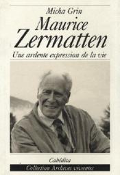 Maurice Zermatten - Couverture - Format classique