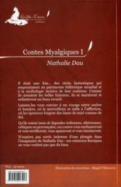Contes myalgiques t.1 ; les Terres qui rêvent - 4ème de couverture - Format classique