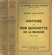 Histoire De Don Quichotte De La Manche. En 2 Tomes. - Couverture - Format classique
