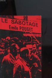 Le Sabotage - Couverture - Format classique