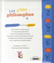 Les p'tits philosophes t.2 - 4ème de couverture - Format classique
