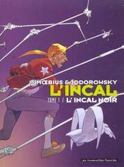 L'Incal ; une aventure de John Difool T.1 ; l'Incal noir - Intérieur - Format classique