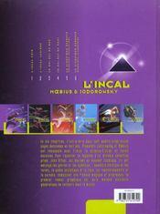 L'Incal ; une aventure de John Difool T.1 ; l'Incal noir - 4ème de couverture - Format classique