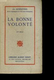 La Bonne Volonte - Couverture - Format classique