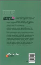 Anticiper la dépendance (2e édition) - 4ème de couverture - Format classique