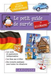 Le petit guide de survie en Allemagne - Couverture - Format classique