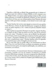 Napoléon au Brésil - 4ème de couverture - Format classique