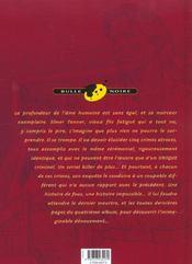 Lewis Anderson - 4ème de couverture - Format classique