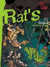 Rat's t.4 ; problèmes épineux - Intérieur - Format classique