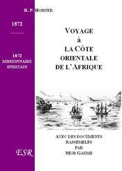 Voyage A La Cote Orientale De L'Afrique - Couverture - Format classique