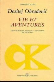 Vie et aventures - Couverture - Format classique