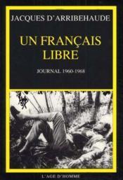 Journal D'Un Francais Libre - Couverture - Format classique