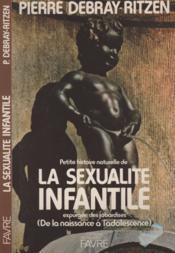 La sexualite infantile - Couverture - Format classique