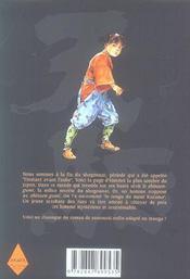 Tengu t.3 - 4ème de couverture - Format classique