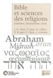 Bible Et Sciences Des Religions - Couverture - Format classique