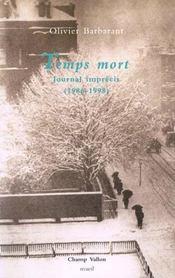 Temps Mort, Journal Imprecis (1986-1998) - Intérieur - Format classique