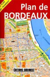 Aed plan de bordeaux et son agglomeration 2008 - Couverture - Format classique