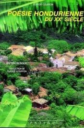 Poesie hondurienne du xxe siecle - Couverture - Format classique