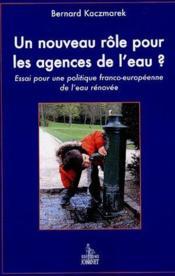 Un nouveau role pour les agences de l'eau ? - Couverture - Format classique
