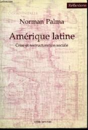 Amerique Latine Crise Et - Couverture - Format classique