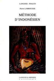 Méthode d'indonésien - Intérieur - Format classique