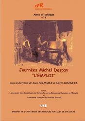 Journée Michel Despax