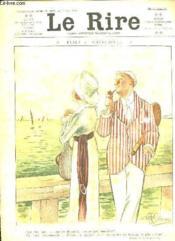 Le Rire N° 497 Du 10 Aout 1912.Flirt Au Crepuscule, Le Rire De La Semaine, L Amour Et L Eau Fraiche... - Couverture - Format classique