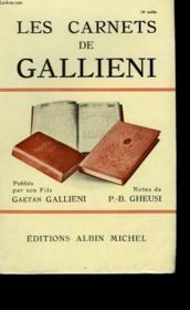 Les Carnets De Gallieni. - Couverture - Format classique