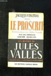 Jacques Vingtras Tome 4: Le Proscrit. - Couverture - Format classique