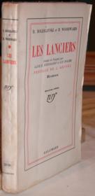 Les Lanciers. - Couverture - Format classique