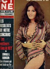 CINE REVUE - TELE-PROGRAMMES - 53E ANNEE - N° 6 - LES NOCES ROUGES, par le poison, par le fer et par le feu ... - Couverture - Format classique