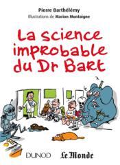 La science improbable du Dr Bart - Couverture - Format classique