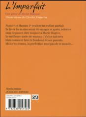 L'imparfait - 4ème de couverture - Format classique