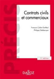 Contrats civils et commerciaux (11e édition) - Couverture - Format classique