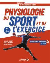 Physiologie du sport et de l'exercice - Couverture - Format classique