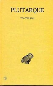 Oeuvres morales t.11 1ère partie - Couverture - Format classique