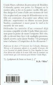 Habeas Corpus - 4ème de couverture - Format classique