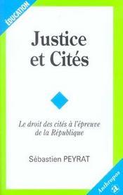 Justice Et Cites - Intérieur - Format classique