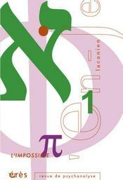 En-Je Lacanien T.7 ; L'Impossible - Intérieur - Format classique