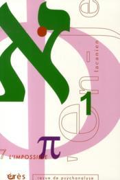 En-Je Lacanien T.7 ; L'Impossible - Couverture - Format classique