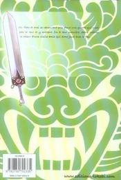Last Fantasy T.2 - 4ème de couverture - Format classique