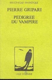 Pedigree Du Vampire - Couverture - Format classique