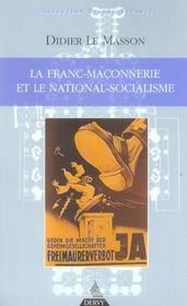 La Franc-Maconnerie Et Le National-Socialisme - Intérieur - Format classique