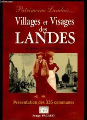 Villages Et Visages Des Landes - Couverture - Format classique